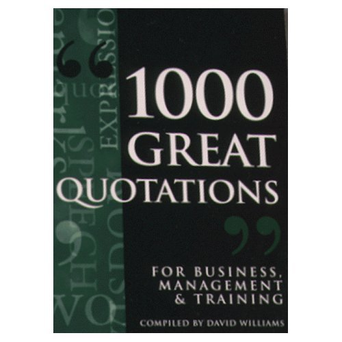 Great Quotations Business Management Training ebook