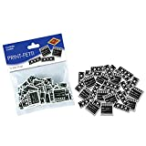 Club Pack of 12 Black and White Clapboard & Filmstrip Printed Party Confetti .5Oz.