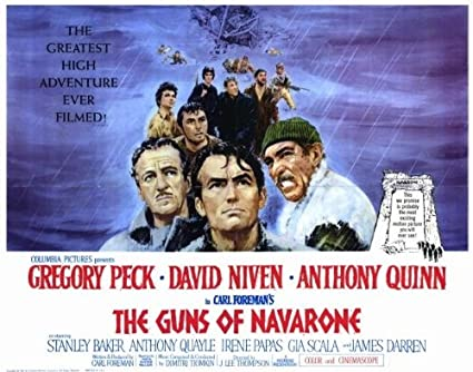 Image result for the guns of navarone movie poster