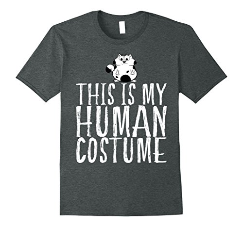Unique Costume Ideas For Plus Size Women (Mens This Is My Human Costume Shirt - Saying My Cat Costume Gift 3XL Dark Heather)
