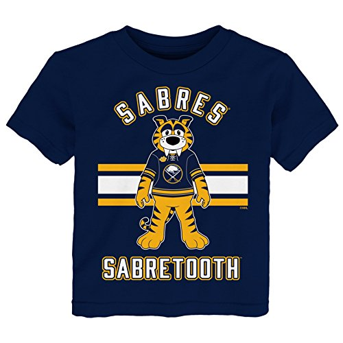 - Outerstuff NHL Buffalo Sabres Children Mascot Life Short Sleeve Tee, Large(7), Navy