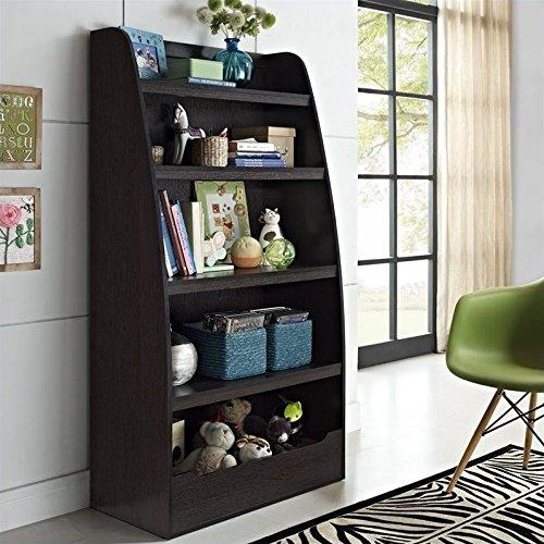 Cosco Hazel  Kids 4 Shelf Bookcase Espresso