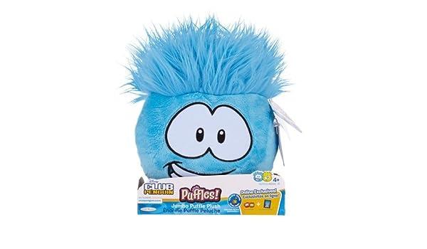 Amazon.com: Disney Club Penguin Jumbo Pet Puffle Series 4 - Blue: Toys & Games