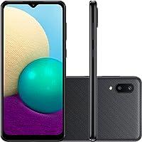 "Smartphone Samsung Galaxy A02, Camera Dupla Traseira 13MP + 2MP, Selfie de 5MP, Tela Infinita de 6.5"", 32GB, 2GB RAM…"