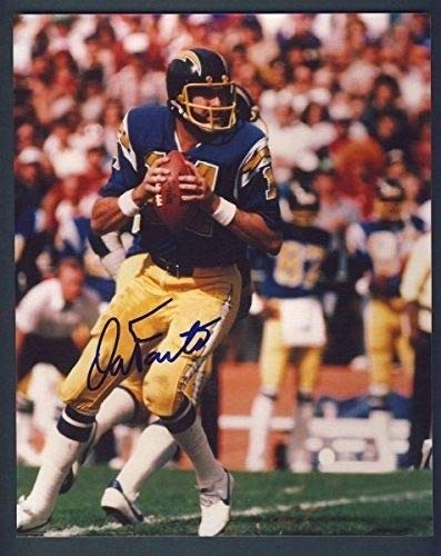 Dan Fouts Chargers Autographed/Signed 8x10 Photo 125545 ()