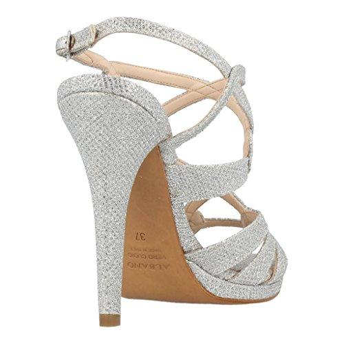 Albano Damen Sandalen, Farbe Silber, Marke, Modell Damen Sandalen GV121559 Silber Silber