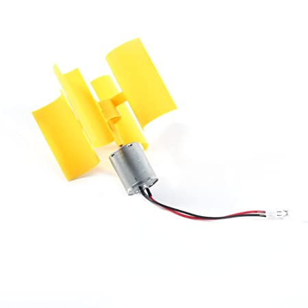 Diy Kit Small Dc Motor Vertical Wind Turbines Blades Generator