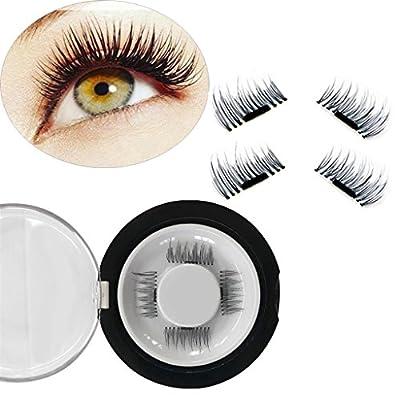 Magnetic Eyelashes Reusable False Eye Lash, Natural Fiber, Butterfly