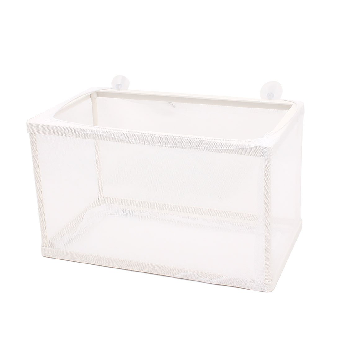 uxcell Aquarium Fish Tank Plastic Floating Isolation Divider Breeding Box Net