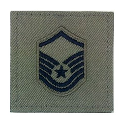 (Sage Green AIR FORCE Rank Insignia - E-7 MASTER SERGEANT)