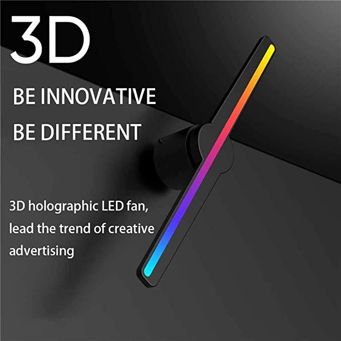 MIEDTY 3D Holographic Projector,Pantalla Led Publicidad Proyector ...