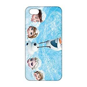 Frozen unique durale drop-resistance 3D Phone Case for iPhone 5s