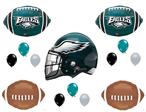 3ea7645a3b0 Philadelphia Eagles Helmet Birthday Party Balloons Decoration Supplies -  Buy Online in Oman. | Toys And Games Products in Oman - See Prices, ...