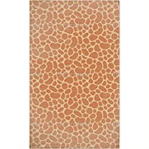 Giraffe Baby Area Rug: Small Soft and Plush Stain Resistant