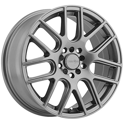 - Vision 426 Cross Gunmetal Wheel with Painted Finish (17x7.5