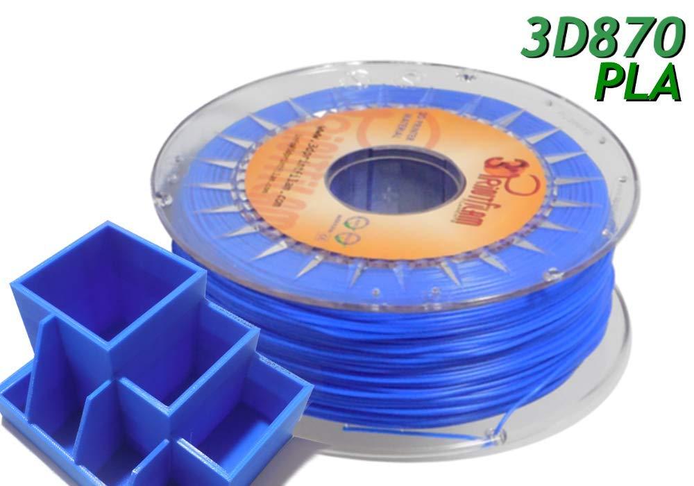 3DPrintfilam® Filamento PLA Premium Ingeo 3D870 Azul 1,75 mm 1Kg ...