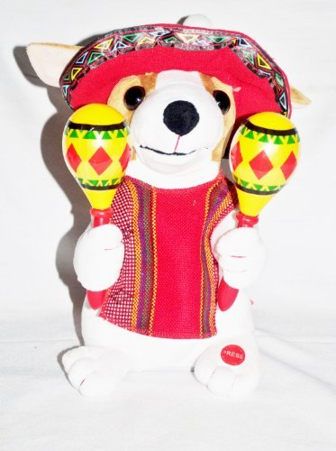 - Home Elements Animated Chihuahua Shakes Maracas and Sings 10