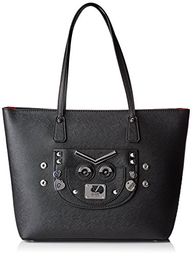 Guess Damen Hwbk6777230 Shopper, Schwarz (Nero), 6.5x16x24 cm