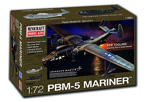 - Minicraft PBM-5 Mariner Nightmare Building Kit (132 Piece)