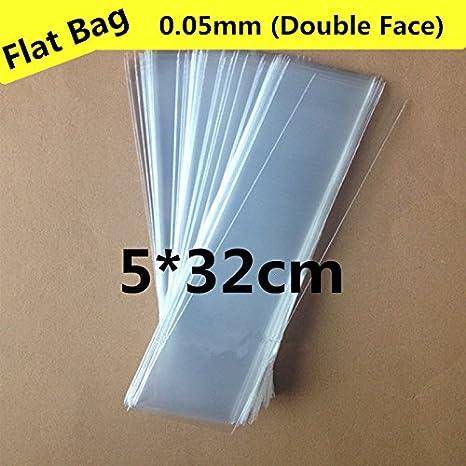 Paquete de 200 unidades de bolsas pequeñas de plástico largo ...