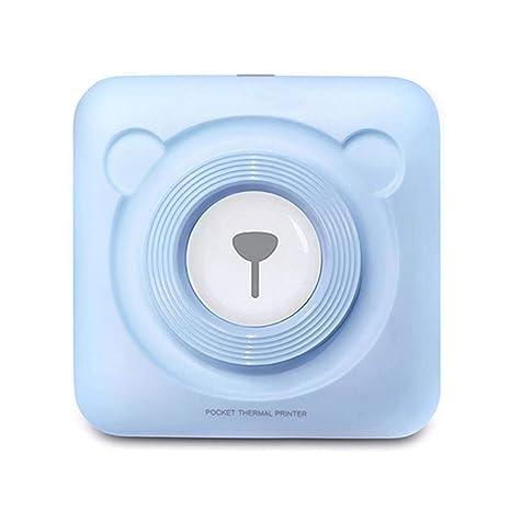 WWSUNNY Mini Impresora Bluetooth Impresora Fotográfica Instantánea ...