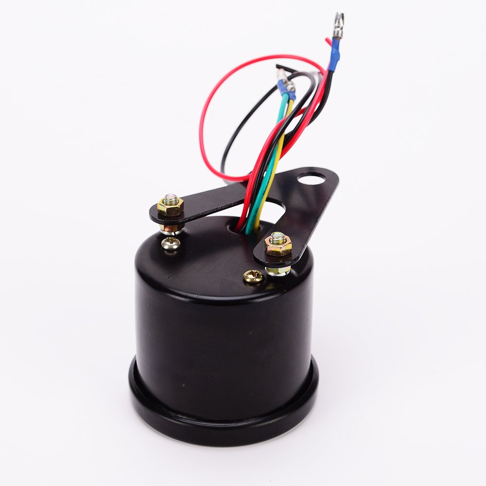 Led Backlight Motorcycle Meter Tachometer Gauge Rev Eagle Tach Wiring Counter 0 13000 Rpm Black Automotive