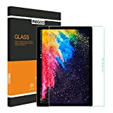 Surface Pro 4 Screen Protector 12.3 Inch, MEGOO HD Clear 9H [Tempered Glass] Screen Protector, Anti-scratch, Smooth Touching, Easy Installation, For Microsoft Surface Pro 4/ 5 2017