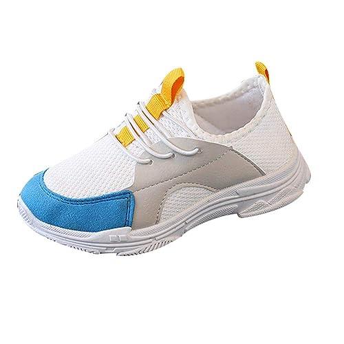 BBestseller Niños Estudiante Calzado Deporte Correr Malla Transpirable Zapatillas Casual Zapatos Running Sneaker Shoes Invierno: Amazon.es: Zapatos y ...