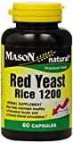 Cheap Mason Natural, Red Yeast Rice, 1200 mg, 60 Capsules Bottle (Pack of 3), Herbal Dietary Supplements May Help Maintain Healthy Cholesterol and Promote Circulation