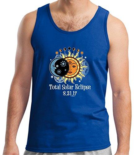 Solar Eclipse Glasses Kids Total Solar Eclipse 2017 Solar Eclipse Viewing Tank Top Medium Royal