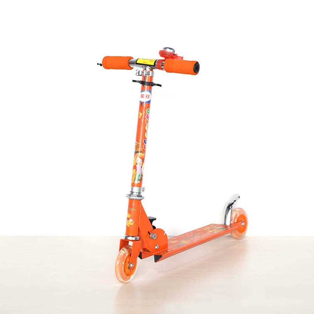 【ラッピング不可】 Shioya Shioya house 子供のための漫画スクーター、ユーススポーツ (、折りたたみ式、持ち運びが簡単、2輪デザイン ご愛顧ありがとうございました B07QXJ12N6 ( Color : Orange ) B07QXJ12N6, トヨネムラ:f54c085d --- svecha37.ru