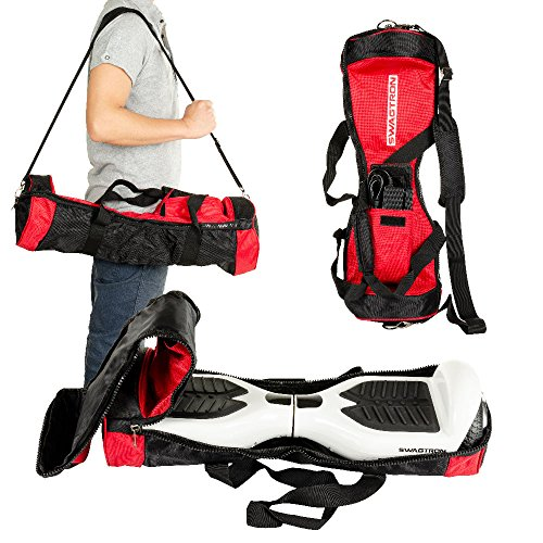 Swagtron Carrying Bag - Fits T1, T5 Swagtrons - The Bag For All Your Swag - Red