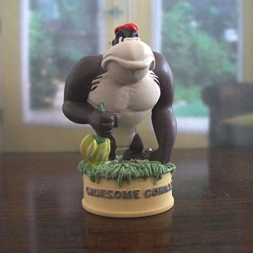Lenox Thimble - Gruesome Gorilla Figure Thimble - Lenox Disney Looney Tunes Collection - Retired