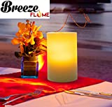 Breeze Flame Flameless Air-Motion Pillar LED Candle