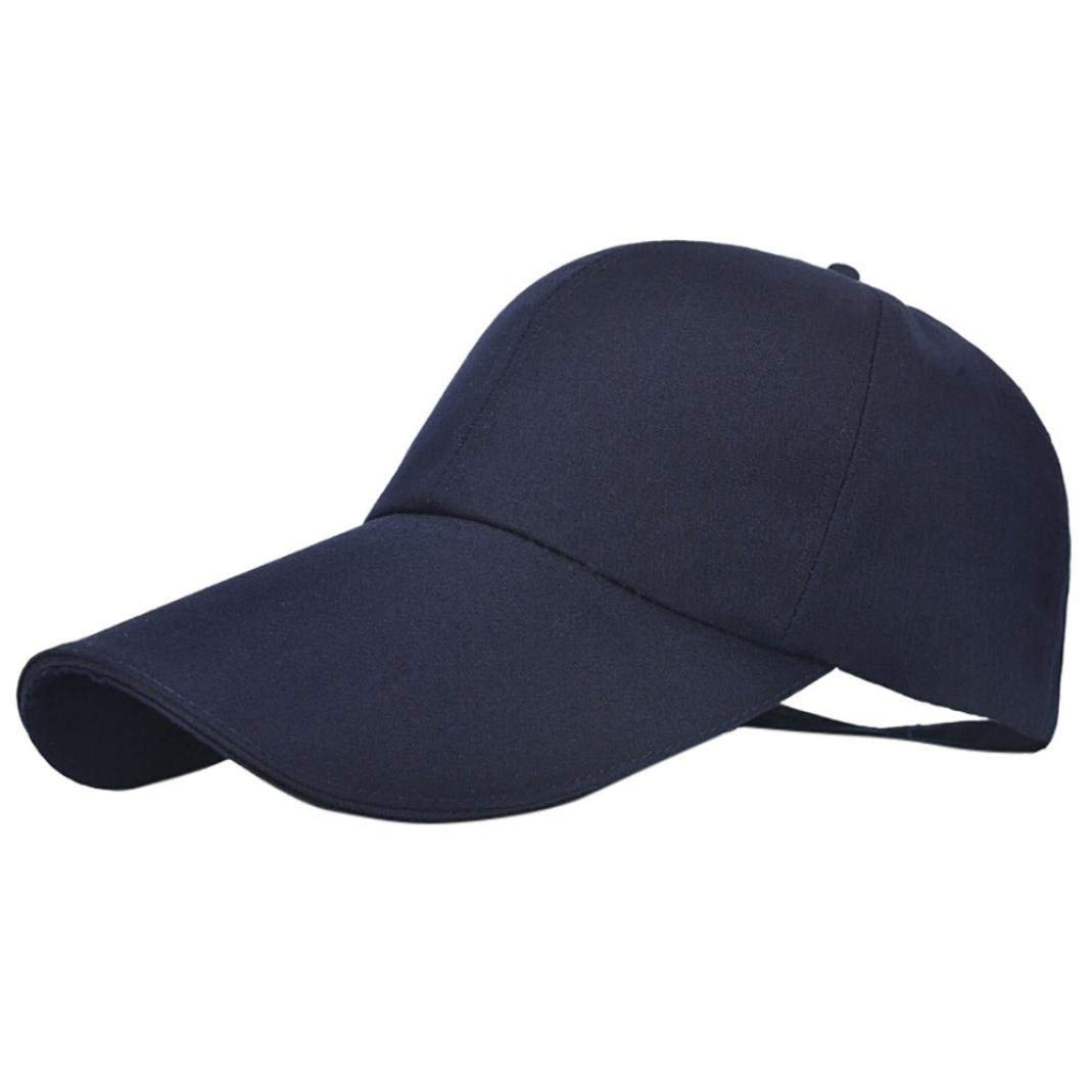 Staron/® Womens Baseball Caps Women Fashion Adjustable Baseball Hat Solid Color Hip-Hop Cap Shade