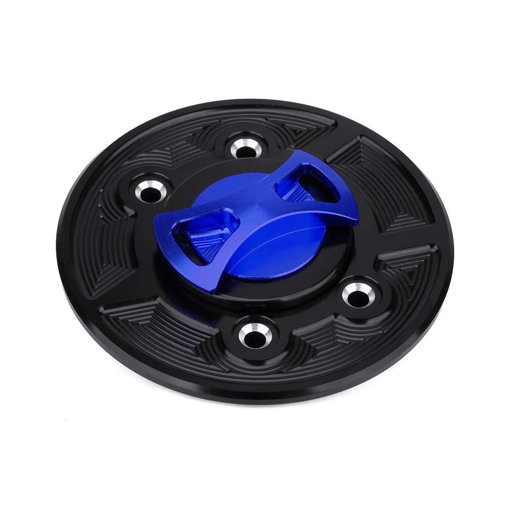 Tapa para dep/ósito de Combustible de Motocicleta Xin de Aluminio CNC sin Llave para BMW F650GS F750 F850GS F800R F800S ST K1600GT K1600GTL R1200GS R1200R R1200S S1000RR