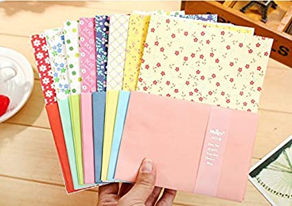 onor tech set of cute lovely letter stationery writing paper envelope for birthday party