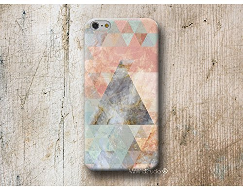 Rose Marbre triangle Coque Étui Phone Case pour Samsung Galaxy S9 S8 Plus S7 S6 Edge S5 S4 mini A3 A5 J3 J5 J7 Note 9 8 5 4 Core Grand Prime