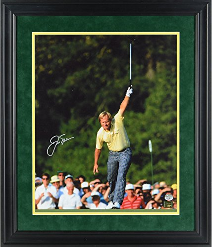 Jack Nicklaus Framed Autographed 16'' x 20'' 1986 Masters Victory Silver Ink Photograph - Fanatics Authentic Certified