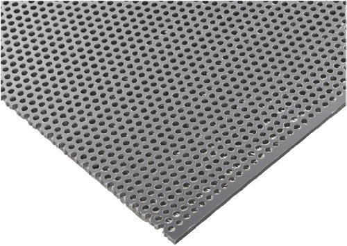 Polyvinyl Chloride Perforated Staggered Thickness