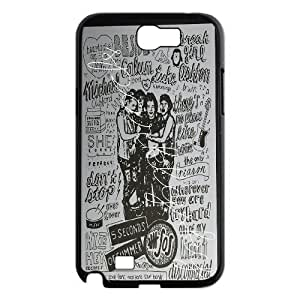 Retro Design The Music Band 5SOS For Samsung Galaxy Note 2 N7100 Case Cover ATR036329