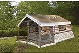 Timber Ridge 8-Man Log Cabin Tent  sc 1 st  Amazon.com & Amazon.com : Igloo Log Cabin Lodge Tent and Screen Porch : Sports ...
