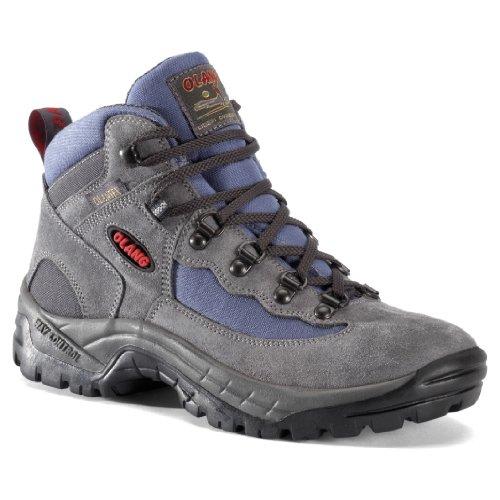 Olang  Gottardo Tex, Chaussures de randonnée basses pour femme Gris Asphalt