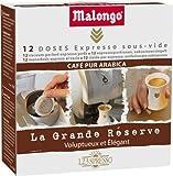 Malongo - Café - Dose Grande Réserve x 12 -  Pour Machine Oh Expresso! - Lot de 4