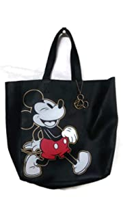 9e02f10d95 Disney Mickey Mouse Tote Bag Faux Leather Large Shoulder Bag Primark