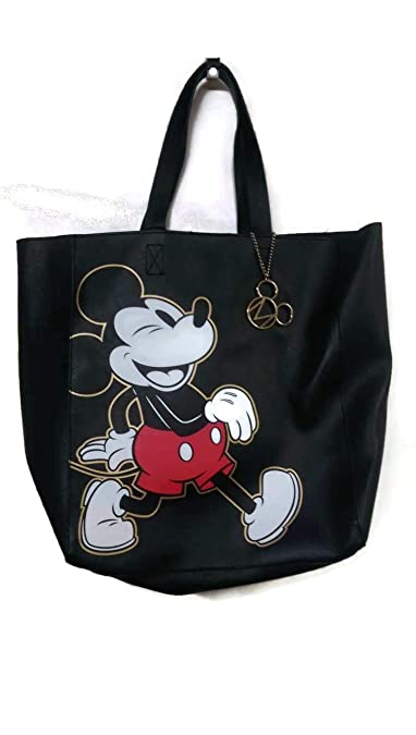 7eea02f6e Disney Mickey Mouse Tote Bag Faux Leather Large Shoulder Bag Primark ...