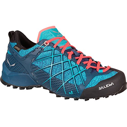 Chaussures Poseidon Capri Wildfire Randonnée 4 WS UK 5 Black Basses GTX Purple 8964 Salewa de Blau Femme wFtH6WZq11