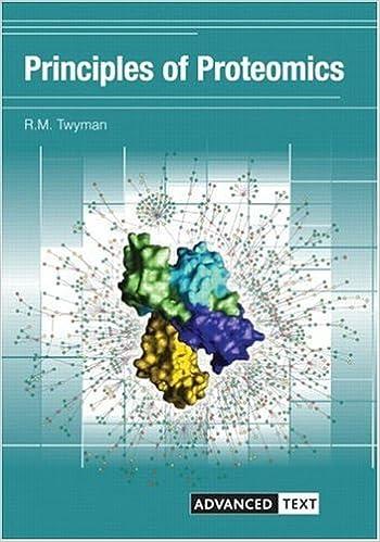 Principles of Proteomics (Advanced Texts) 1, R M  Twyman - Amazon com