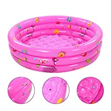 New Kids Baby Swimming Pools Inflatable Bathtub Toddler Water Fun 3-Ring Pool MAPLE