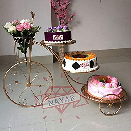 Strange Buy Nayab 3 Tier Metal Cake Display Stand Cupcake Cooling Racks Funny Birthday Cards Online Chimdamsfinfo